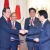 Lễ ký kết giữa Việt Nam và Nhật trong lĩnh vực xuất khẩu lao động chất lượng cao