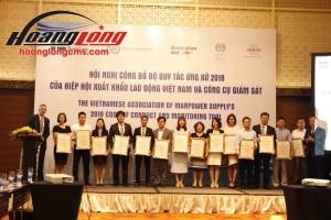 Hoàng Long CMS được Hiệp hội Xuất khẩu lao động xếp hạng 5 sao