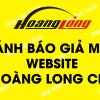 Cảnh báo các Website giả mạo logo, bài viết, hình ảnh Hoàng Long CMS