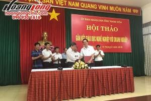 Hoàng Long CMS tham gia Hội thảo gắn kết GDNN với doanh nghiệp tỉnh Thanh Hóa