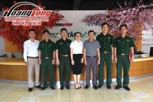 HSSV Trường CĐ nghề Số 1 – Bộ Quốc phòng ấn tượng với Hoàng Long CMS