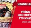 Hoàng Long CMS thông báo lịch bay TTS Xuất khẩu lao động Nhật Bản