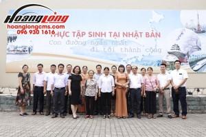 Hoàng Long CMS đón tiếp Đoàn cán bộ xã Vũ Hội – Vũ Thư – Thái Bình