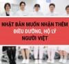 Nhật Bản muốn nhận thêm điều dưỡng hộ lý người Việt