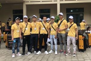 Thêm một đoàn TTS Hoàng Long CMS xuất cảnh Đài Loan