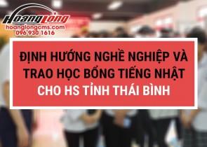 JHL Group định hướng nghề nghiệp cho hơn 200 học sinh lớp 12 tỉnh Thái Bình